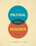 Political ResearchMethods and Practical Skills